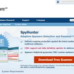 SpyHunterのホームページ